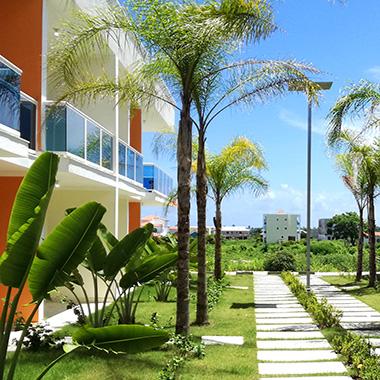 Appartamenti vista piscina